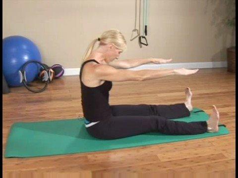 Acemi Pilates Egzersizleri: Pilates Egzersizleri: Omurga Streç İleri