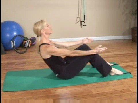 Acemi Pilates Egzersizleri: Pilates Egzersizleri: Yarı-Rulo Aşağı