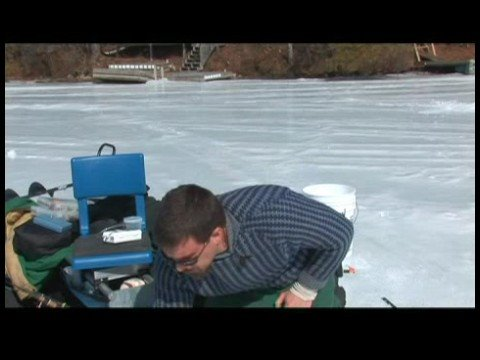 Buz Balıkçılık Becerileri : Buz Balık Yemi: Balık Tutma Yerinde Küçük Canlı Tutmak