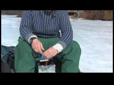 Buz Balıkçılık Becerileri : Buz Balıkçılık Becerileri: Bir Grev Göstergesi Kullanarak