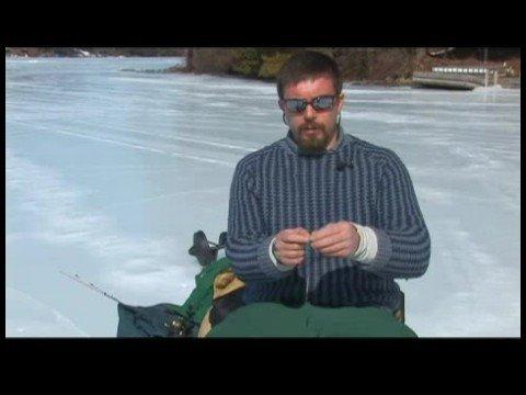 Buz Balıkçılık Becerileri : Buz Balıkçılık Becerileri: Jig Bir Çubuk Üzerinde Çift Teçhizat