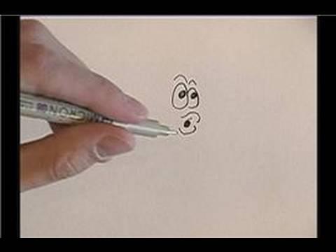 Karikatür Bir Balık Çizmek İçin Nasıl Çizim Karikatür Balık :