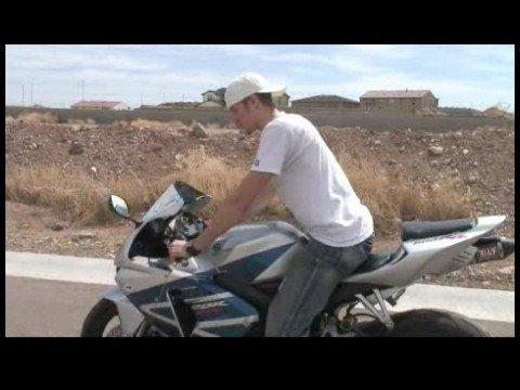 Motosiklet Binme Temelleri: Yürüyüş Motosiklet Kürek