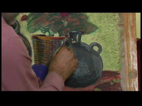 Pastel Boya: Gölgeler Ve Vurgular: Pastel Resim: Kontrast Özelliği İle Oluşturma