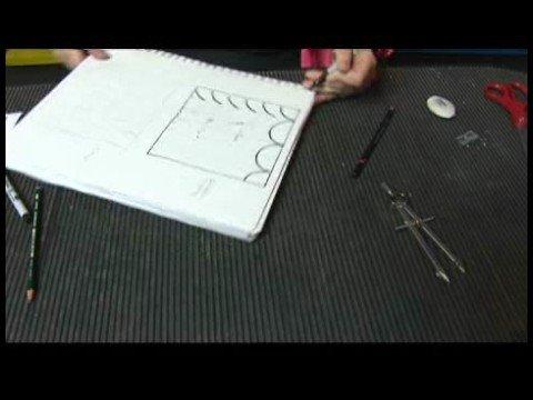 Sanat Teknikleri: Resim Kopyalama Ve Desenler Oluşturmak İçin Kılavuzlar : Resimler İçin Izgaralar: Daire Desenleri
