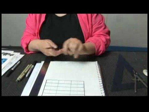Sanat Teknikleri: Resim Kopyalama Ve Desenler Oluşturmak İçin Kılavuzlar : Resimler İçin Izgaralar: Malzemeler