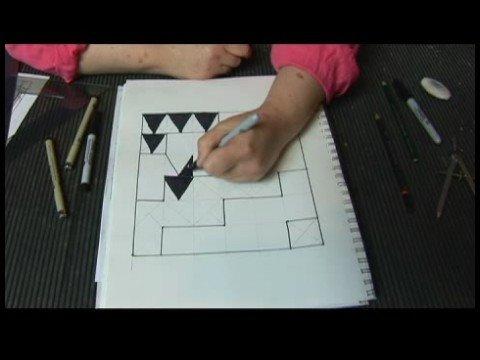 Sanat Teknikleri: Resim Kopyalama Ve Desenler Oluşturmak İçin Kılavuzlar : Resimler İçin Kılavuzlar: Kılavuzlar Bölünmesi