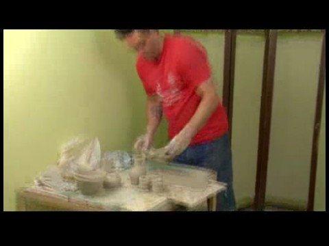 Seramik Viski Sürahi Kümesi Yapım: Viski Plaka Şekli Ayarla