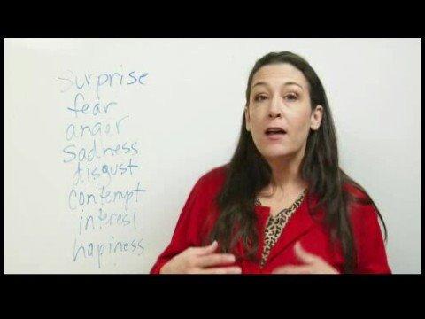Sözsüz İletişim Araçları : Sözsüz İletişim: Yüz İfadeleri
