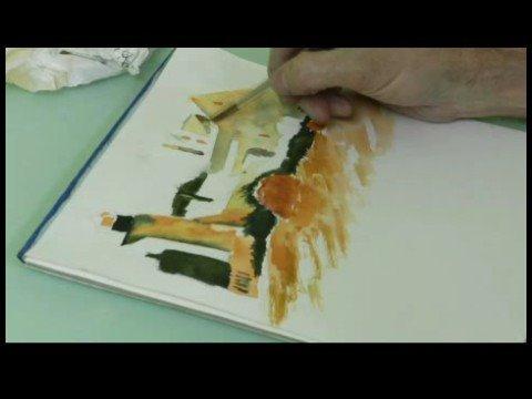 Suluboya Resim: Deniz Feneri : Bir Deniz Feneri Suluboya Resim: Verdiği Renkleri