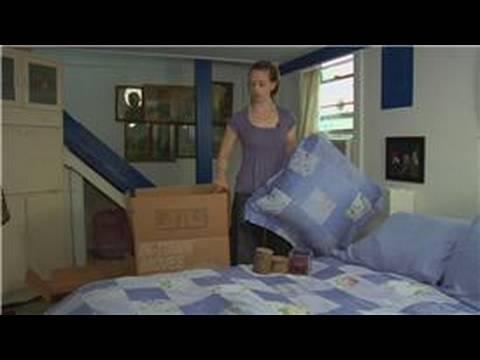 Yatak Odası Erken Paketleme İpuçları: Ambalaj Ve Bir Yatak Odası Erken Boks