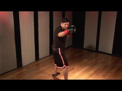 Kickboks 4-Hareket Combo Teknikleri : Kickboks 4-Hareket Kombinasyonları: Cezaevi, Geri-Yumruk, Kanca, Ters Yumruk