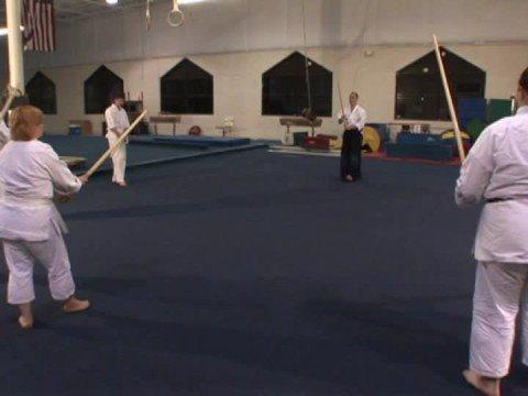 Aikido Silah Teknikleri : Aikido Silah: Odaklama