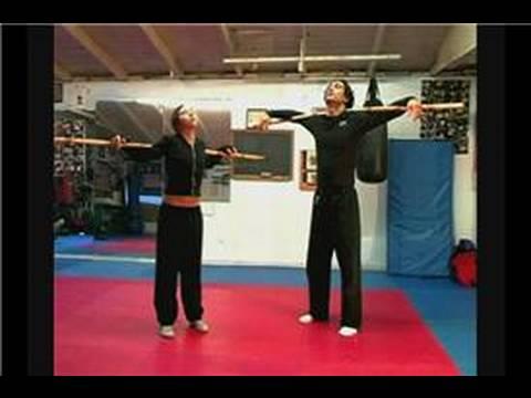 Dövüş Sanatı Bo Personel Teknikleri: Bo Personel Egzersizleri Serin.