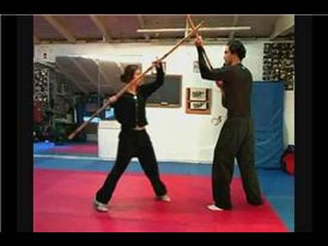 Dövüş Sanatı Bo Personel Teknikleri: Bo Staff Teknikleri: Dolunay Hareket