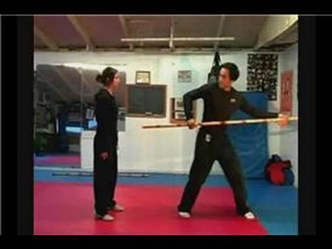 Dövüş Sanatı Bo Personel Teknikleri: Bo Staff Teknikleri: Kombinasyon