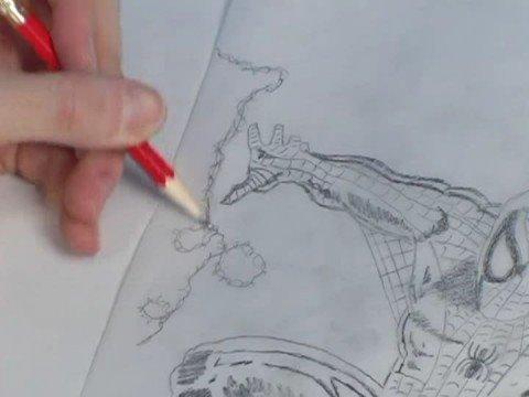 Nasıl Bir Süper Kahraman Çizmek İçin : Örümcek Adam Çizmek İçin Nasıl: Ek Etkileri