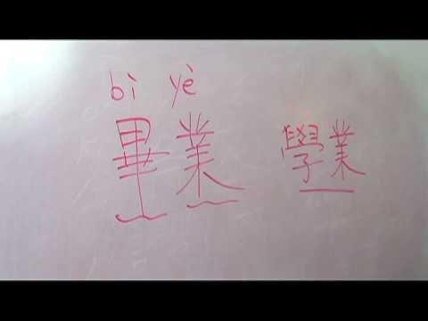Geleneksel Karakter Okul Hayatı Hakkında Çince Kelimeler : Üniversite İçin Çince Semboller