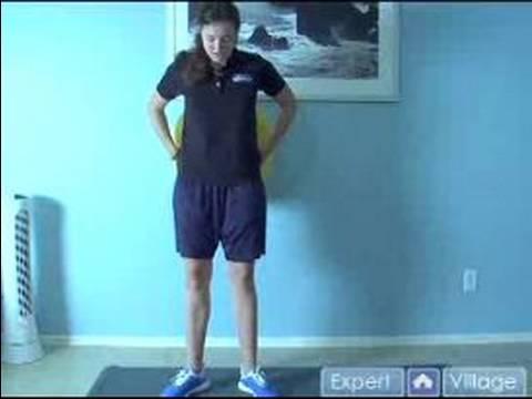 Alt Vücut İçin Fizyo Topu Egzersizleri : Fizyo Topu Egzersizleri Buzağı Yükseltmek Açılı Dışarı