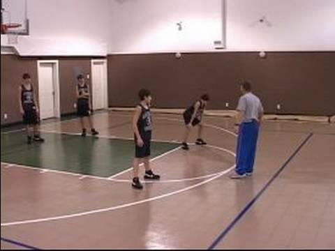 Bölge Gençlik Basketbolda Savunma: Gençlik Basketbol Alan Savunması: 2-3 Bölge