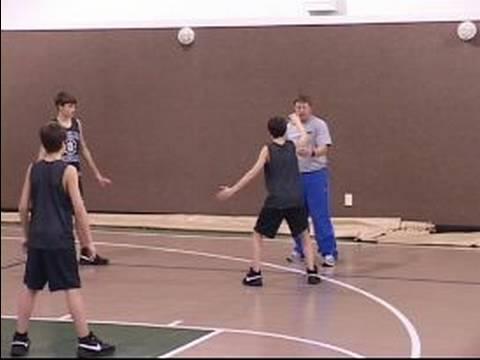Bölge Gençlik Basketbolda Savunma: Gençlik Basketbol Alan Savunması: Çekim İtiraz