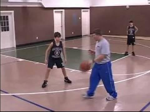 Bölge Gençlik Basketbolda Savunma: Gençlik Basketbol Alan Savunması: Savunma Duruş