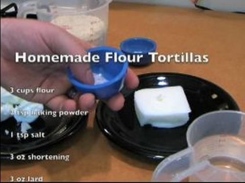 Ev Yapımı Ekmeği Tarifi: Ev Yapımı Un Tortilla Madde