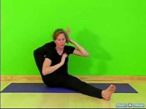 Güvenli Bir Şekilde Başınızın Arkasına Ayağınızı Koyun Nasıl Kalça Uzanır Ve Açacakları Yoga :