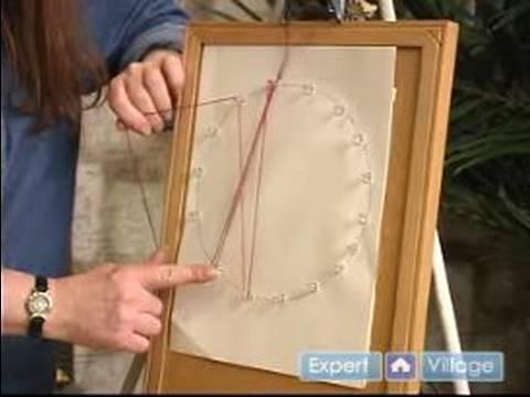 Nasıl Dize Sanat Yapmak İçin : String Art Dize Uygulaması Başladı