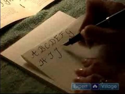 Nasıl Hat Yapmak İçin : P Büyük Harfler H İçin Kaligrafi