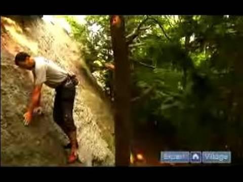 Ara Kaya Tırmanışı : Nasıl Düşük Açılı Kaya Duvarlar Açık Havada Tırmanmak