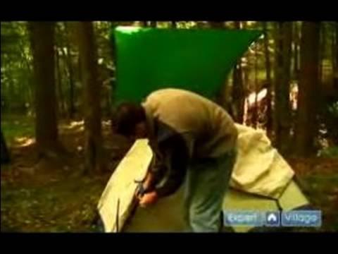 Bir Kamp Kurmak İçin Nasıl : Nasıl Re-Pack Köpük Ped & Çadır İçin
