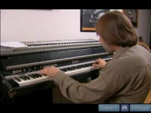 Fa Majör Anahtarı Caz Piyano Dersleri : Fa Majör Jazz Piyano Akor