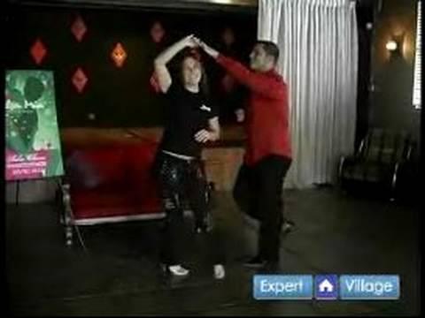 Salsa Dansı Nasıl Yapılır : Salsa Dansı Temel Döner