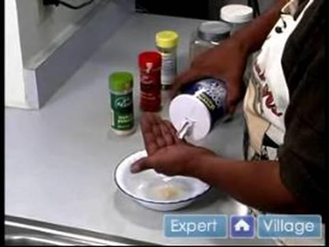 Tavuk Marsala Nasıl Yapılır : Tavuk Marsala İçin Baharat Nasıl Hazırlanır