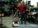 Nasıl Bir Çim Biçme Makinesi Tamiri İçin : Çim Biçme Makinesi Soğutma Yüzgeçleri Temizleme