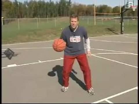 Basketbol Dersleri Yeni Başlayanlar İçin: Basketbol Duruş Top Sürme