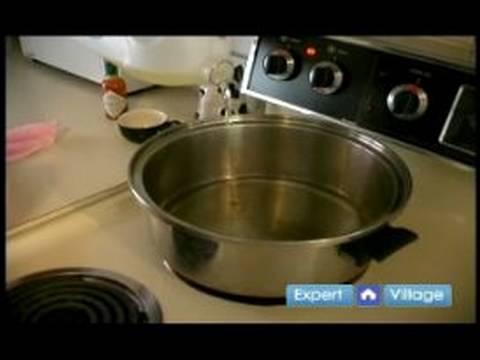Nasıl Börek Yapmak İçin: & Börek Kızartma İçin Yağ İlave Isıtma
