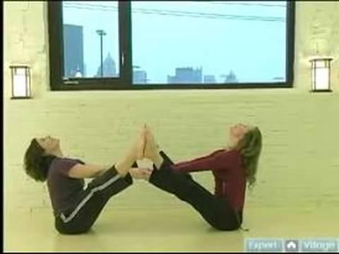 Partner Yoga Pozisyonları : Tekne Poz: Yoga Pozisyonları Ortağı