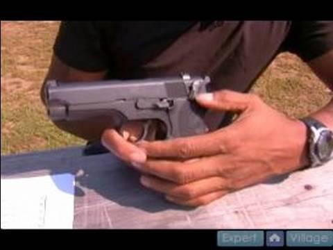 Silah Operasyonu Ve Güvenlik 9Mm El : Tabanca De-Cocker Kolu