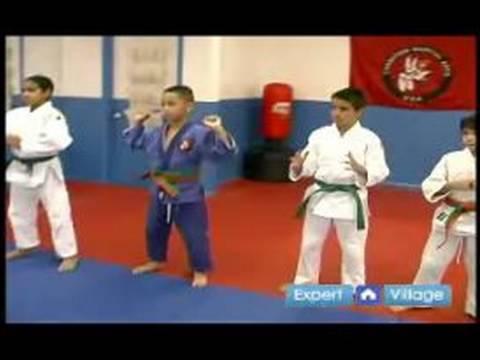 Çocuklar İçin Judo : Çocuklar İçin Judo Ağız Kavgası Öğrenin