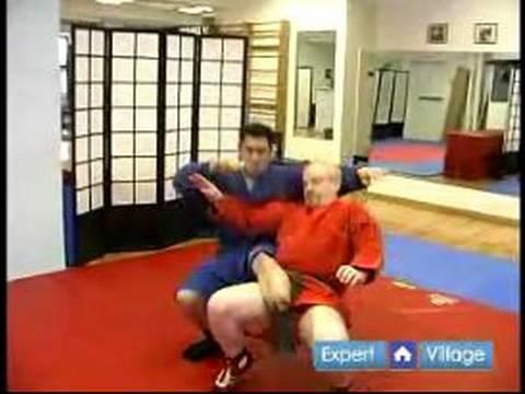 Nasıl Sambo Dövüş Sanatları : Oturan Sambo Dövüş Sanatları Taşı Atmak