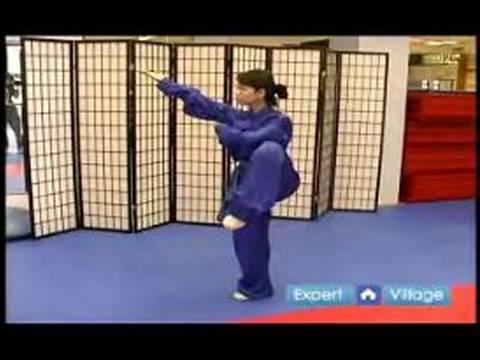 Wushu Pu Chuan Zhang Bu Tekniği Nasıl Wushu Tekniklerini Acemi :