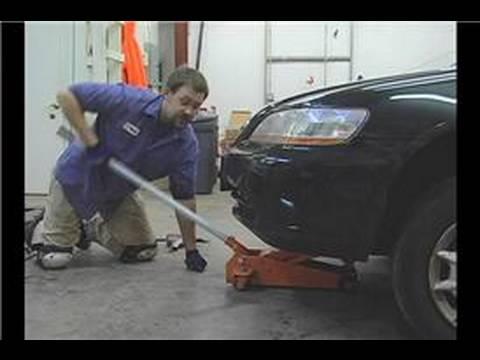 Araba Lastik Rotasyonu İpuçları : Araba Lastik Rotasyonu: Araç Jack