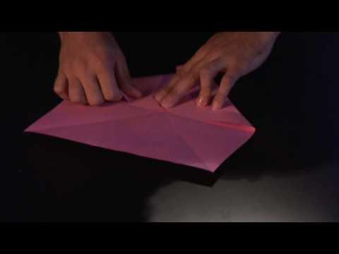 Domuz Bir Üs Yapmak İçin Nasıl Origami Desen Basit :