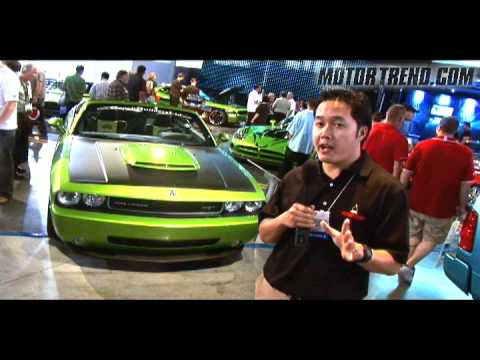 2008 Sema - 2009 Dodge Challengers