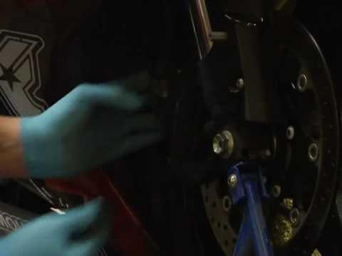Motosiklet Fren Ve Rotor Değiştirme : Motosiklet Rotor Ve Fren Balataları Değiştir