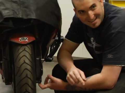Motosiklet Fren Ve Rotor Değiştirme : Motosiklet Rotor Ve Fren Yedek: Ön Tekerlek Standı