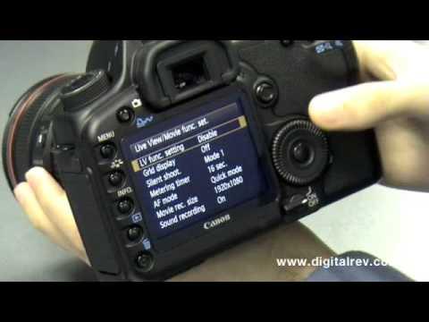 Canon Eos 5D Mark Iı İlk İzlenim Video Digitalrev Tarafından