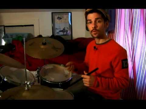 Bas Davul Rock Yener: Davul Bas Rock Yener: 1 Ve 4 Offbeats Oynarken